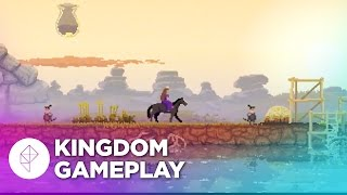 Kingdom Gameplay - Gorgeous 2D Medieval Village Building