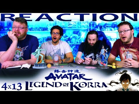 "Legend of Korra 4x13 FINALE REACTION!! ""The Last Stand"""