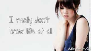 youtube musica Carly Rae Jepsen – Both Sides Now