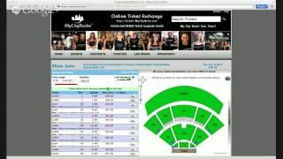 Elton John Tickets Virginia Beach VA Farm Bureau Live Amphitheatre 06/12/2014