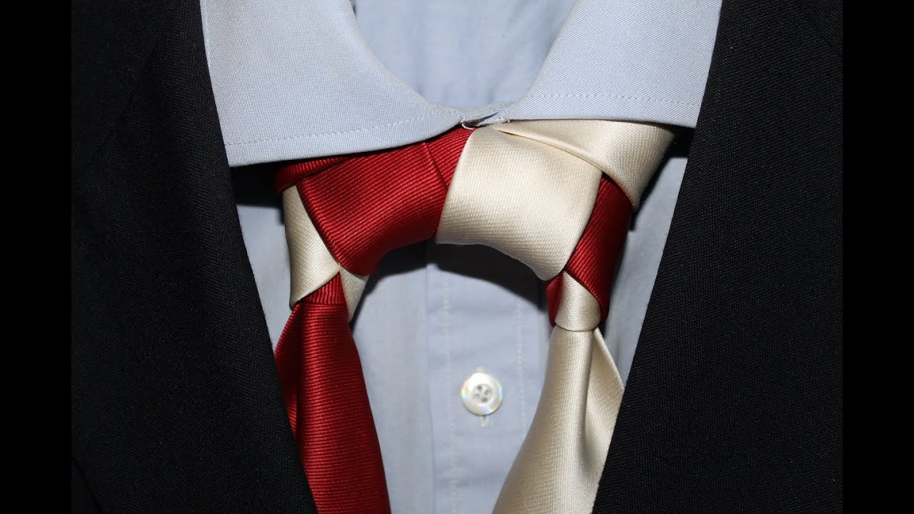 It Can Be Tied With Any Standardsize Tie, And It Is Acceptable In A  Variety How_to_tie_a_necktie_eldredge_knot The Eldredge Knot Tying  Instructions