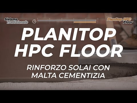MAPEI: Planitop HPC Floor - rinforzo solai