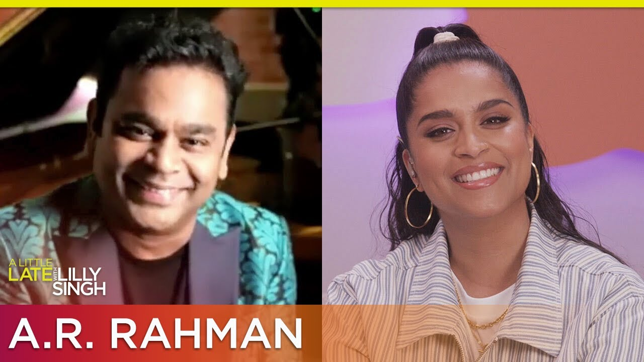 A.R. Rahman's Wife Is His Stylist