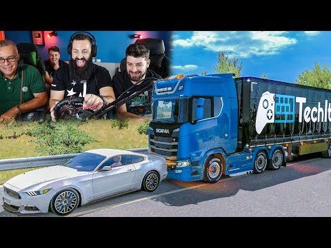 ΦΑΣΑΡΙΑ! | Euro Truck Simulator 2 |#25| TechItSerious