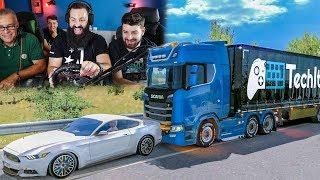 ΦΑΣΑΡΙΑ!   Euro Truck Simulator 2  #25  TechItSerious