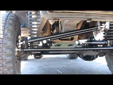 Jeep Grand Cherokee 4x4 Project ZJ Part 52 4.88 Gears Detroit TrueTrac Trac Lok Steering Winch Armor