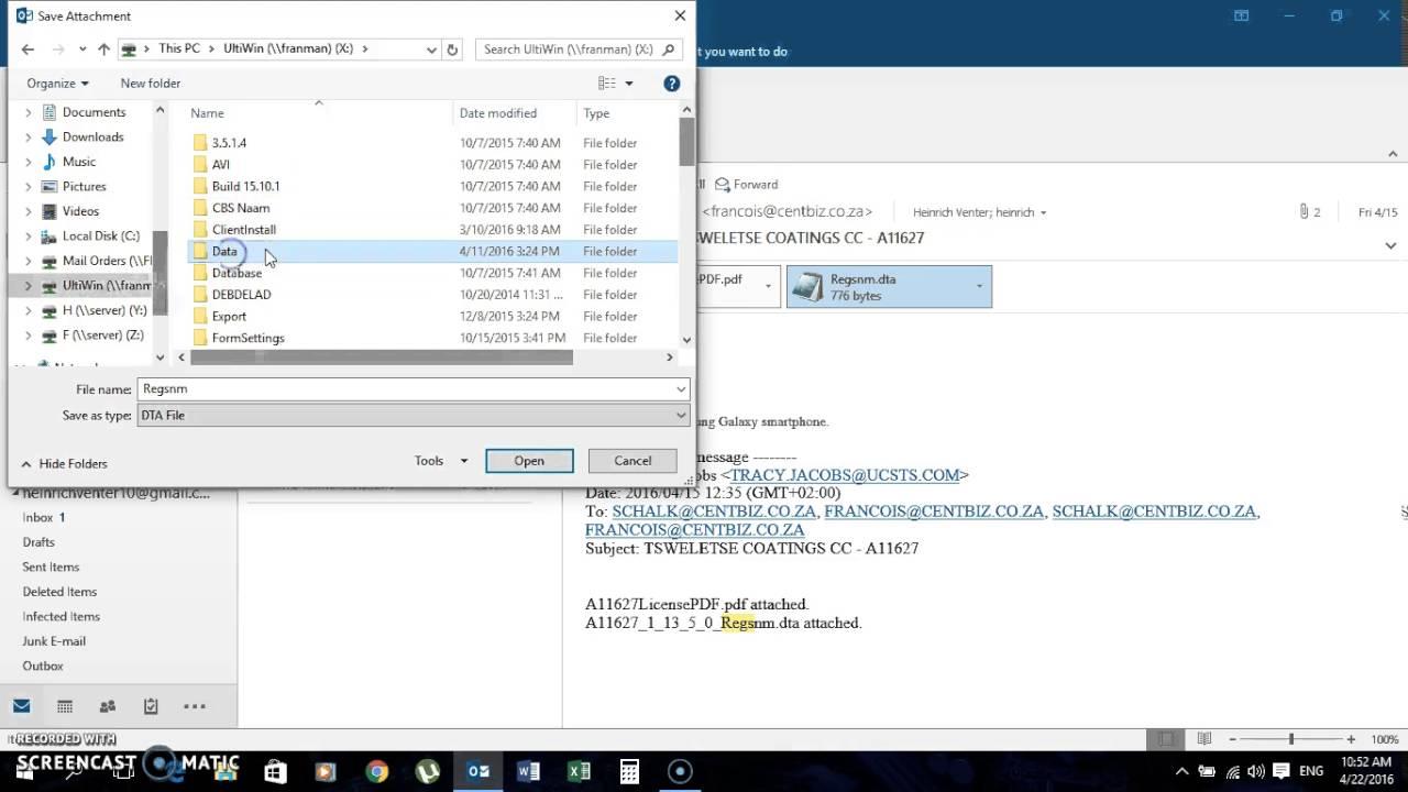 Download UltiSales Name File - Afrikaans