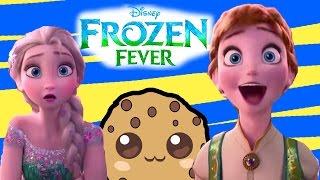 trailer review of disney frozen fever short film aboutqueen elsa princess anna birthday party