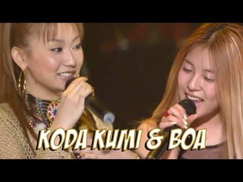 Koda Kumi & BoA - The Meaning Of Peace (2002) LIVE