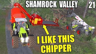 I LIKE THIS CHIPPER!! | Shamrock Valley | Farming Simulator 17 - #21