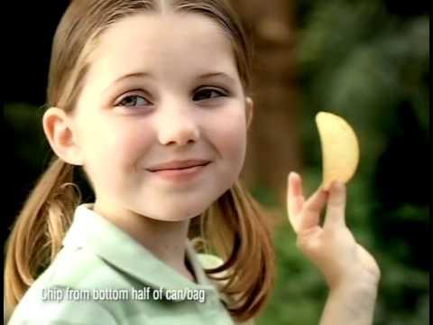 Sammi Hanratty Pringles Commercial