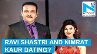 Former cricketer Ravi Shastri and Nimrat Kaur reportedly dating since 2 years