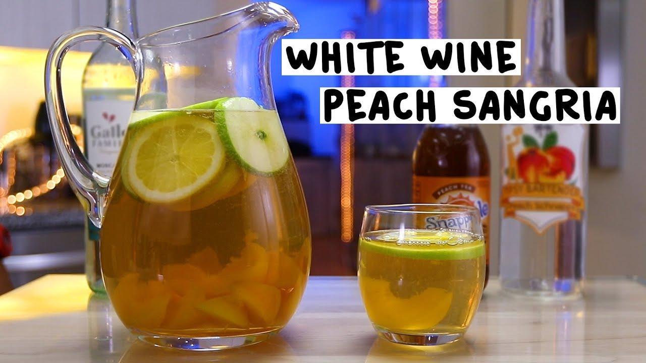 white-wine-peach-sangria