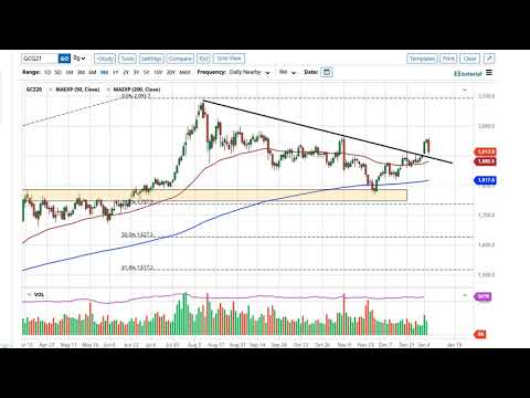 Gold and AUD/USD Forecast January 7, 2021