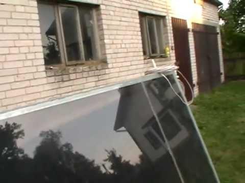 Tani Kolektor Słoneczny Domowej Roboty Za 200zł Pln Jak