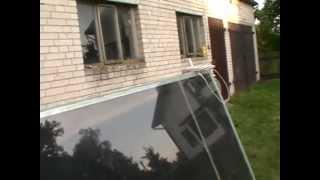 Tani Kolektor słoneczny domowej roboty za 200zł pln Jak zrobić kolektor z odpadów