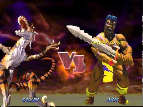 Primal Rage 2 Dino-God (Dinosaur) VS Renders - YouTube