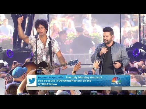 Dan & Shay   |   Tequila (Live On TODAY, June 25, 2018) With Lyrics