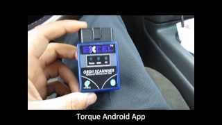 Android ve ELM327 Bluetooth OBD II için tork Uygulaması Nasıl Yapılır