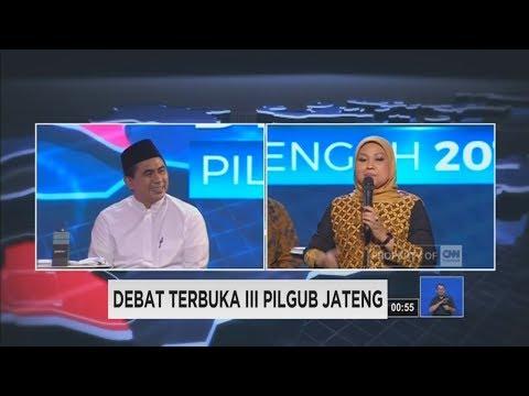 Debat Final Pilgub Jateng Segmen Akhir: Jawa Tengah Di Mata Cawagub