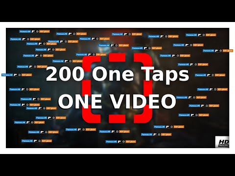 200 ONE TAPS IN ONE VIDEO - Rainbow Six Siege |