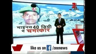 Soldier buried under avalanche found alive at Siachen glacier