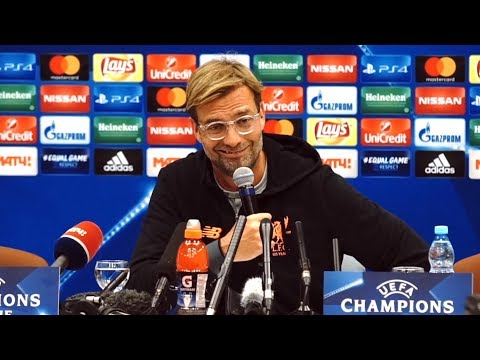 Jurgen Klopp Full Pre-Match Press Conference - Spartak Moscow v Liverpool - Champions League