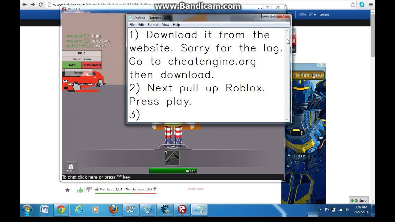 How To Speed Hack Roblox Cheat Engine 6 4 Youtube