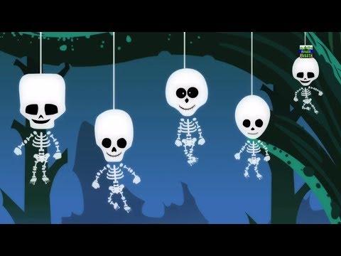 Скелет пальца семьей Страшные песни Хэллоуин песни Nursery Rhymes Baby Song Skeleton Finger Family