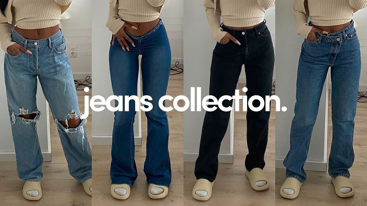 Download i tried on all my jeans!!! *2021 jeans collection*