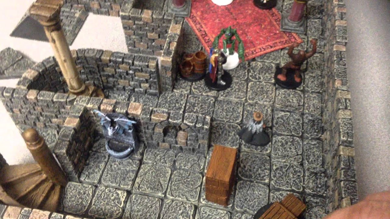 Dwarven Forge Game Tiles Do They Slide On The Table