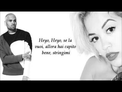 Rita Ora Ft. Chris Brown - Body on me traduzione in italiano