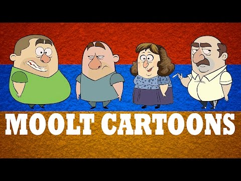 MOOLT CARTOONS - Animated Cartoons Of Armenian Family (1 hour Armenian Comedy)