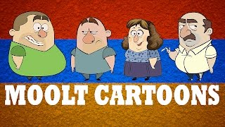 FUNNY VIDEOS - Animated Cartoons Of Armenian Family (1 hour)