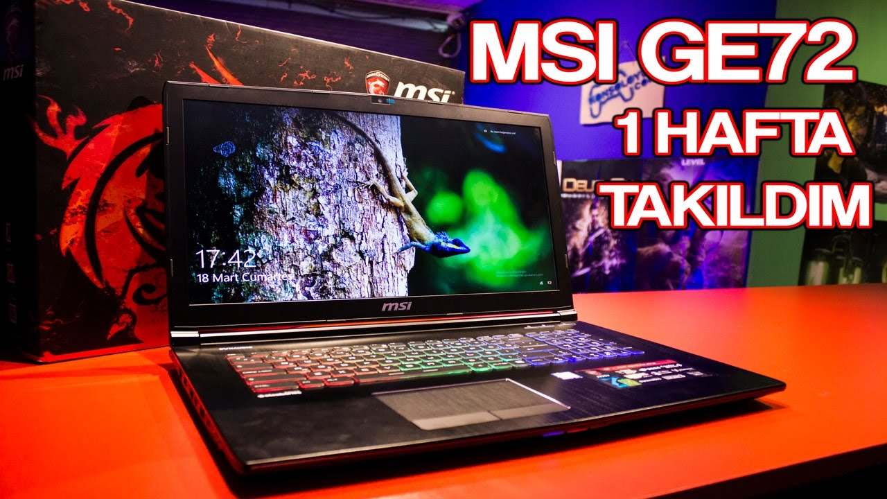 d2fedac7f9140 Donanım İnceleme - MSI GE72 Gaming Notebook - YouTube