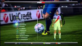PES 2012- Farfan, Vargas, Guerrero faces Thumbnail