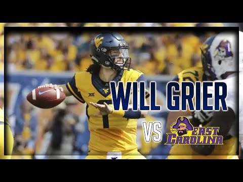 Will Grier Highlights vs East Carolina // 19/25 352 Yards, 5 TDs // 9.09.17