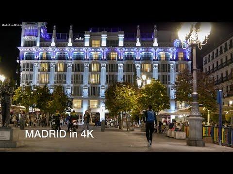 Madrid in 4K video