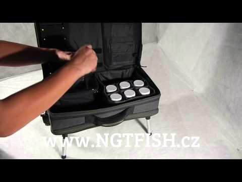 NGT Stolek S Kufrem Carp Bivvy Table System II