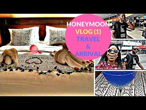 #AdenikeunCut 030: Honeymoon at Zaina Lodge Ghana | Vlog 1  (Travel & Arrival)