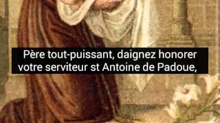 Prière très efficace à Saint Antoine ...