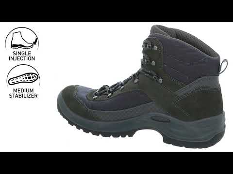 nice shoes entire collection promo code LOWA TAURUS GTX MID WS - YouTube