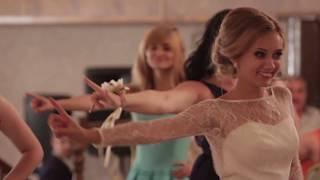 """подарок танец сюрприз жениху от невесты и подружек Vladimir and Yulia Kamarali 29 августа 2015"""""""