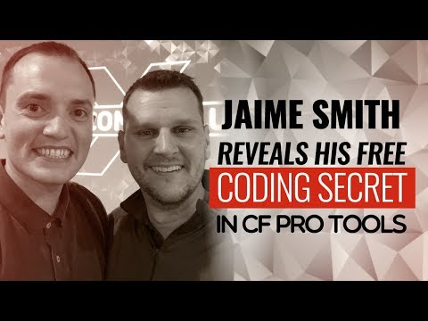 SFR 15: Interview - Jaime Smith reveals his FREE coding secrets in CF Pro Tools, exclusive for...