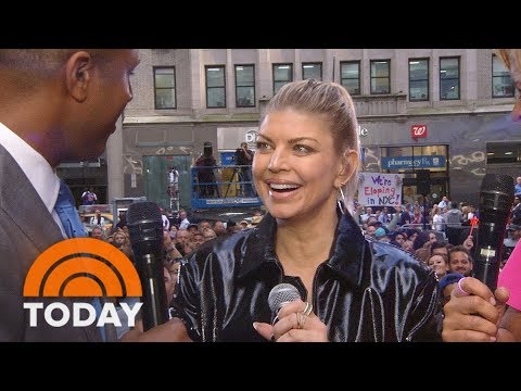 Fergie Reveals Why Her Son Axl Appears On Her New Album | TODAY