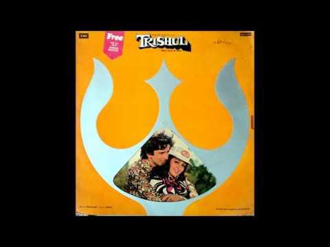 Kishore-Lata-Yesudas_Mohabbat Bade Kaam Ki Cheez (Trishul; Khaiyyaam, Sahr; 1977)