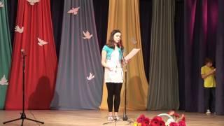 5. Дина Бунина - Рассказ. Театр-студия Палмэ. Открытый урок-концерт. 2017 г.