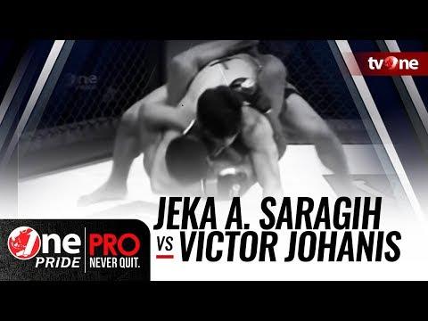 One Pride MMA #2: Jeka A. Saragih VS Victor Johanis