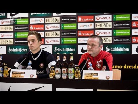22. Spieltag   SGD - VFL   Pressekonferenz vor dem Spiel