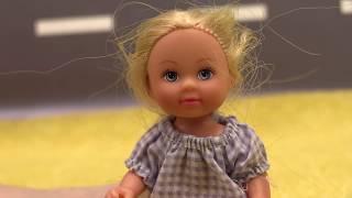 Видео для девочек: урок гимнастики для #Штеффи. Мультик #Барби и видео про кукол